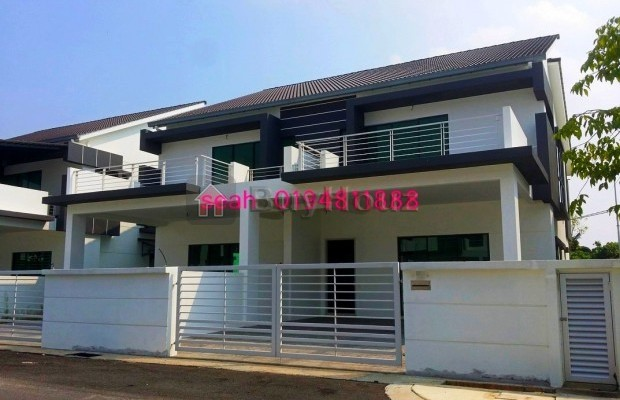 Photo №1 2-storey Terrace/Link House for sale in SANCTUARY GARDEN, Alma, Penang